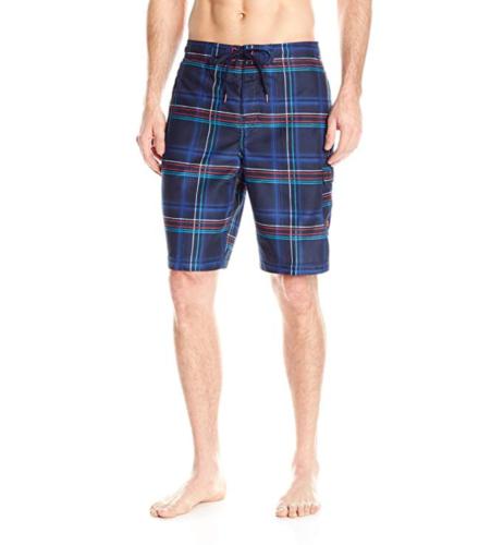 "Small Speedo Men's Airbrush Stripe E-Board 21"" Boardshort Swim Shorts NEW"