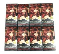 8 Boxes of Revlon Colorsilk Buttercream Hair Dye Intense Red 55RR - $136.62