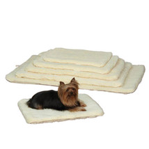 Dog Beds Double Sided Sherpa Plush Warm Furniture Cover Crate Mat Choose Size  - $21.67+