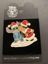 Disney Pin Trading Lilo & Stitch Christmas Santa Kiss for Stitch Year 2004 - $16.99