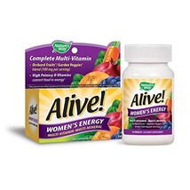 Nature's Way Alive! Women's Energy Multivitamin Tablets, Fruit and Veggie Blend