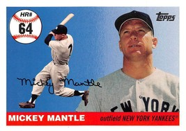 2006 Topps Mickey Mantle Home Run History #MHR64 > New York Yankees - $0.99