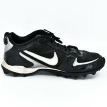 Nike Land Shark Legacy Boy's Youth Kids Black & White Football Cleats Size 6Y image 6