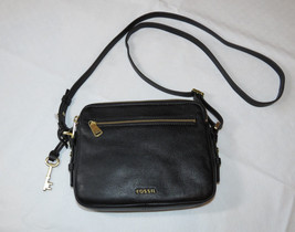 Fossil  ZB6865001 Piper Toaster Black Crossbody Leather handbag purse NWT*^ - $101.66