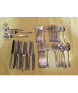 Oneida Community SILVER FLORAL Silver Plated Flatware - $20.00+