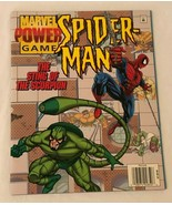 Marvel Power Game Book Spider-Man Sting of the Scorpion 1996 Comic Magaz... - $9.99