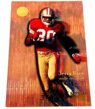 Jerry Rice 1996 Fleer Ultra Mr. Momentum Insert Card #3 NFL HOF 49ers - $3.91