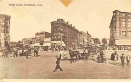Street Scene Northfield Minnesota 1910c postcard - $7.87
