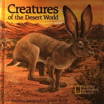 CREATURES Of The Desert World POP-UP Book National Geographic - $13.95