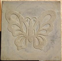 "Butterfly Stepping Stone Concrete Mold 18x18x2"" Make for $3 Each Ships Fast Free image 4"