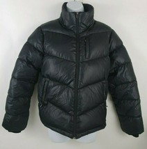 Nautica Down Fill Puffer Black Jacket Womens Coat Size M - $74.24