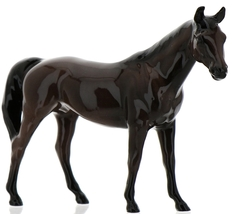 "Hagen-Renaker Miniature Ceramic Horse Figurine Thoroughbred ""Citation"" image 1"