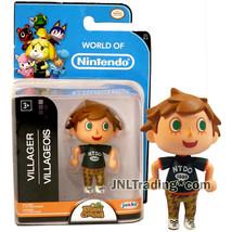 Year 2016 World of Nintendo Animal Crossing 2-1/2 Inch Figure - VILLAGER BOY - $24.99