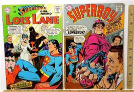Vintage DC Comics Superboy #150 Mr Cipher 1968 + Lois Lane #79 Titanman 1967+++ - $31.37