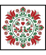 Hungarian Folk Art Design #13430 cross stitch chart Artecy Cross Stitch ... - $14.40