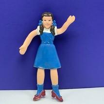 Wizard of Oz Dorothy bendy bendable toy figure 1985 Turner vintage vtg doll rare - $29.65
