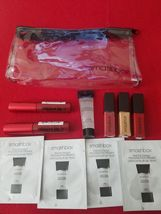 Smashbox Clear Makeup / Cosmetics Bag With Samples ️ 100% Authentic - $16.95