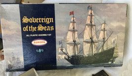 Sovereign of the Seas, Aurora 1967 unbuilt Model Kit - $14.85