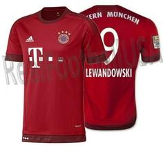 Adidas Robert Lewandowski Bayern Munich Home Jersey 2015/16. - $121.20+