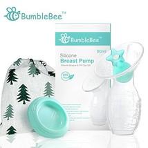 Bumblebee Manual Breast Pump Breastfeeding Milk Saver Light Blue 2 Pack  - $34.02