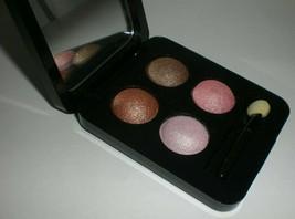 Vincent Longo Diamante Eyeshadow Quad Makeup Compact #07076 ROJA Pink & ... - $12.16