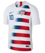 USA Home #10 PULISIC 2018-19 Men Soccer Jersey Football Shirt New Stadium - $36.99