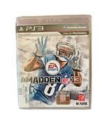 Madden NFL 13 Sony PlayStation PS3 LA 060637181 - $3.90