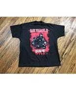 Vtg Hank Williams Jr. 1994 Hog Wild Concert Tour Graphic Black Mens T-Shirt 2XL - $26.06