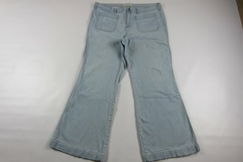 """GAP 1969 Flare Distressed Jeans Size 35R (Length 31"""") - $13.37"""