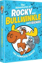 Rocky and Bullwinkle and Friends Complete Series Season 1-5 Collection D... - $54.95