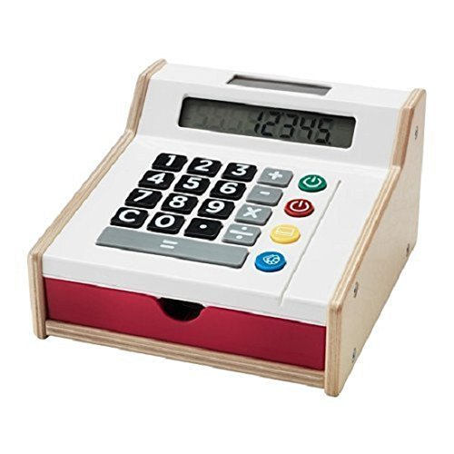 Used, Ikea Duktig Toy Pretend Cash Register - Solar Powered - 802.565.01 for sale  USA