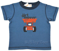 NWT GYMBOREE Dirt Mover Truck T-shirt 6-12-18 mos. Tee - $8.99