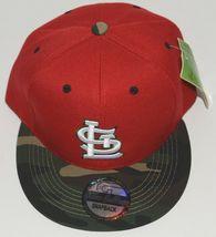 Green Cabbage Premium Headwear St Louis Cardinals Camo Snapback Cap image 3