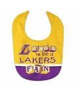 Los Angeles Lakers Born All Pro Baby Bib - £7.91 GBP