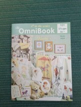 The OmniBook of Babies 4th 1994 Cross Stitch 101 Designs Book 804 - $6.95