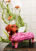 """Ebros 6"""" Long Adorable Doxies Collection Fairy Godmother Dachshund Figurine - $23.99"""