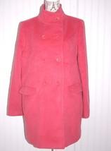 TALBOTS pink coat sz. 14 EUC wool blend New NWOT - $59.39