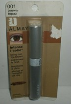 Almay Intense I-Color Mascara #001 Brown Topaz Lengthens & Curls Worn Pa... - $18.22