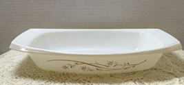 Vintage PYREX Golden Honey Suckle Casserole Dish Retro Casserole Kitchen... - $10.50
