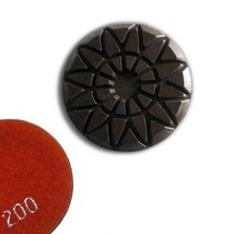 "3"" Grit 200, Rose-Type Dry Concrete Polishing Pad - $20.20"