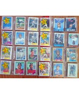 Lot of (8) 1986 1987 1988 1989 Topps Baseball Card Un-opened Rack Packs. - $19.99