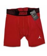Jordan Men's Alpha 6'' Compression Shorts University Red NIKE Dri-Fit 86... - $27.99