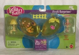 2000 Polly Pocket Fruit Surprises Lemon New MOC  Vintage Bluebird - $39.59