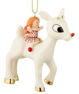 Lenox 2016 Rudolph & Dolly Ornament Annual Misfit Doll Reindeer Christma... - $90.00