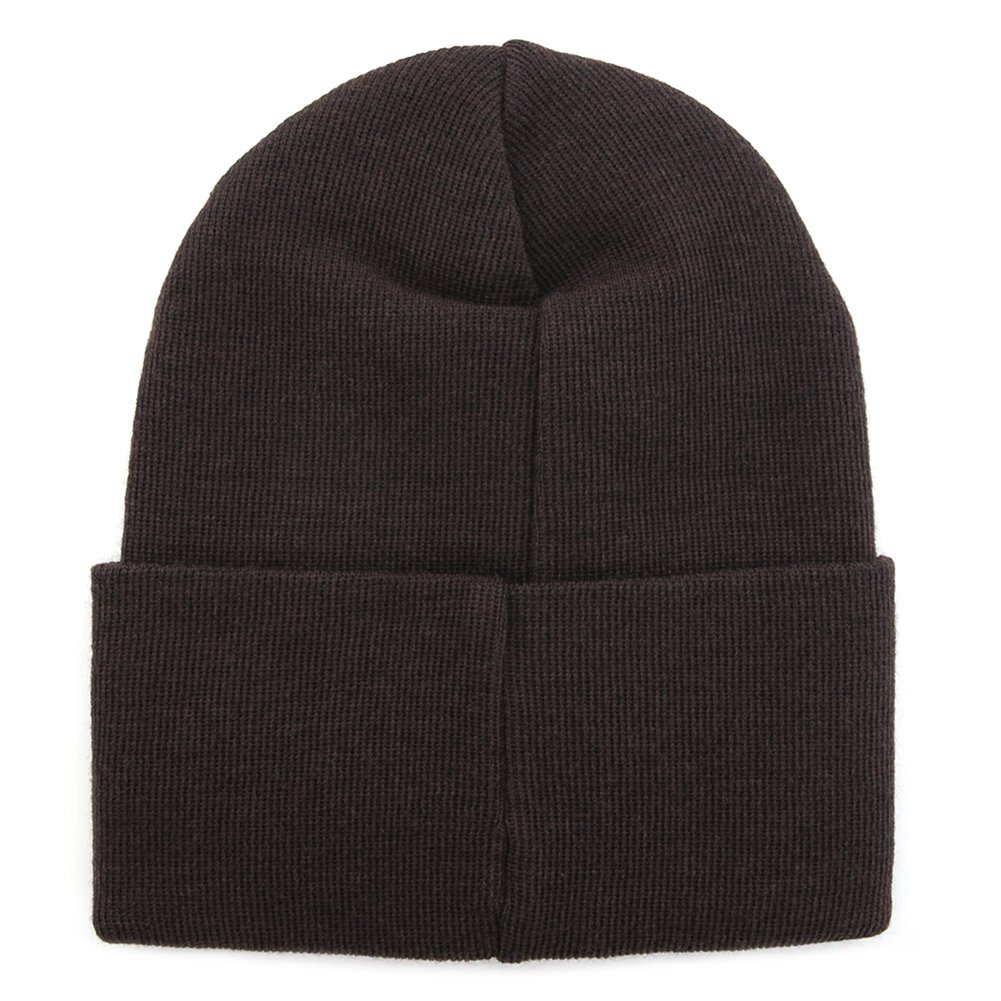 Wood Wood Tall Wool Beanie 11530812-4061 (Brown)