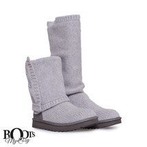 UGG CLASSIC CARDY CASHMERE HEATHER GREY TALL BOOTS WOMENS SIZE US 11/UK ... - $4.111,24 MXN