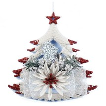 White Christmas Home Door Window Ornaments Decoration Xmas Tree Hanging ... - ₨367.04 INR