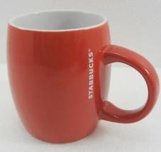 Starbucks Red Barrel Coffee Tea Mug Cup 14 oz  - $25.97