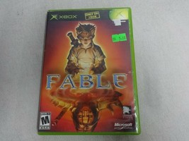 EUC Fable Original Microsoft Xbox Game & Case No Manual Free Ship - $18.24 CAD