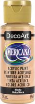 Americana Acrylic Paint 2oz-Mocha-Opaque - $12.57